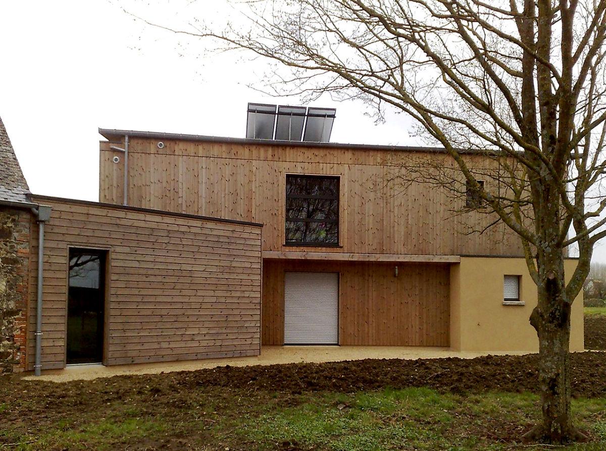 LMB Martin Fr u00e8res Maison Bois> Choisir le bois # Eco Construction Bois