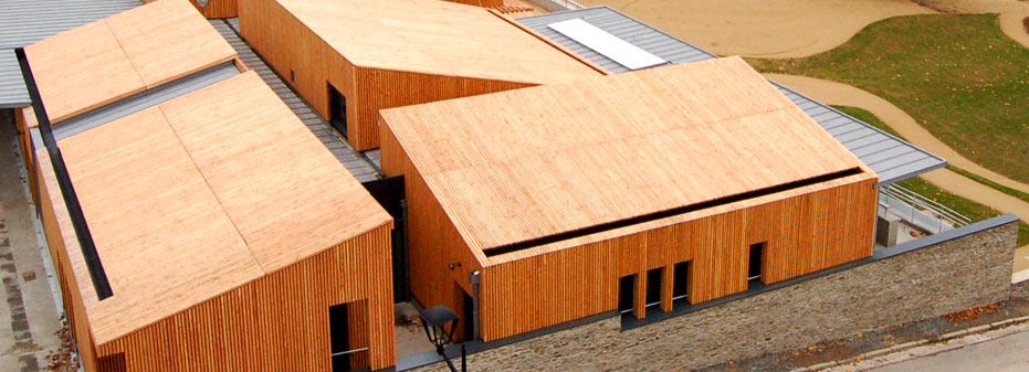 LMB Martin Fr u00e8res Maison bois> Nos réalisations> Eco construction # Eco Construction Bois