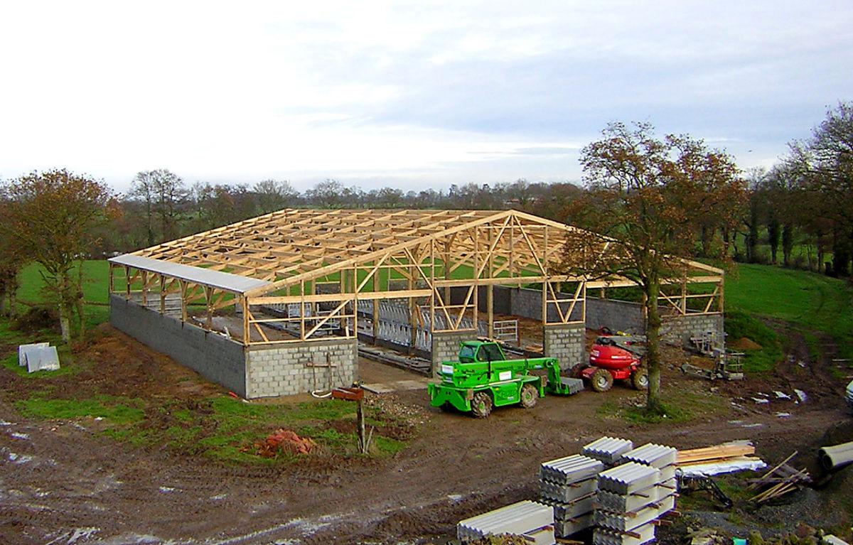 Lmb martin fr res maison bois professionnels et for Batiment structure bois